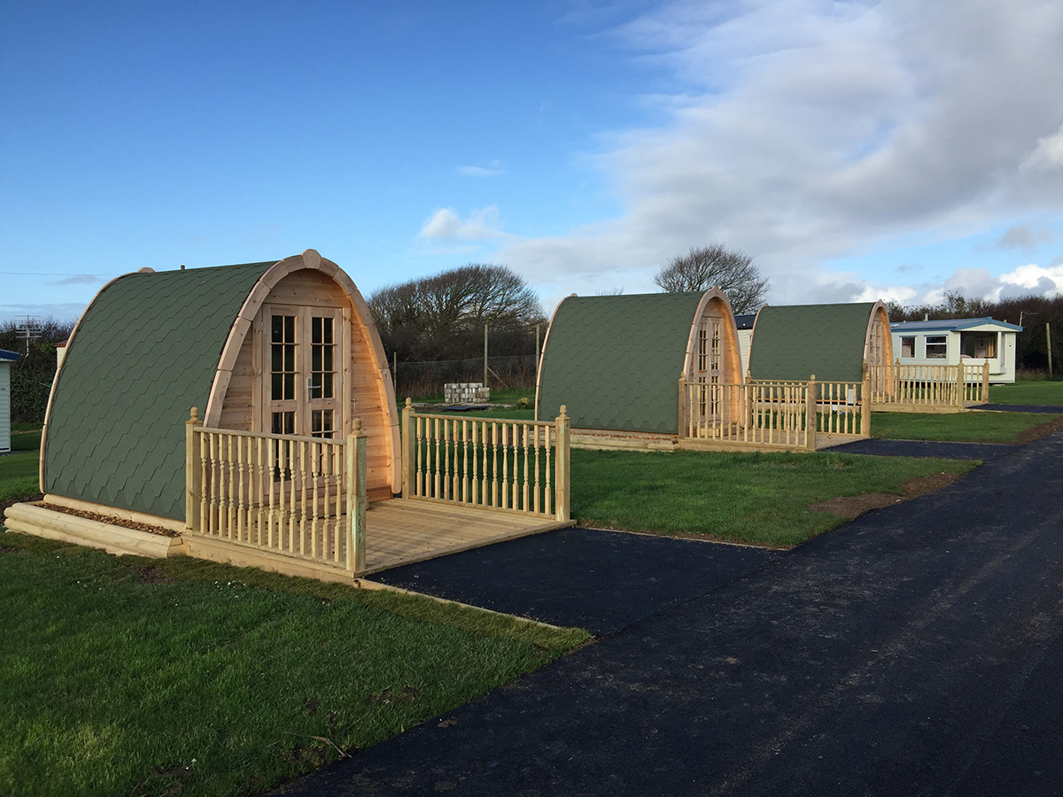 Camping pods cornwall garden buildings cornwall for Gardening jobs cornwall
