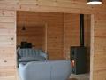 interior with log burner